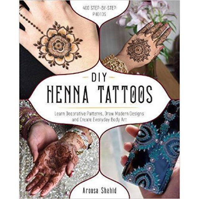 DIY Henna Tattoos - New Book