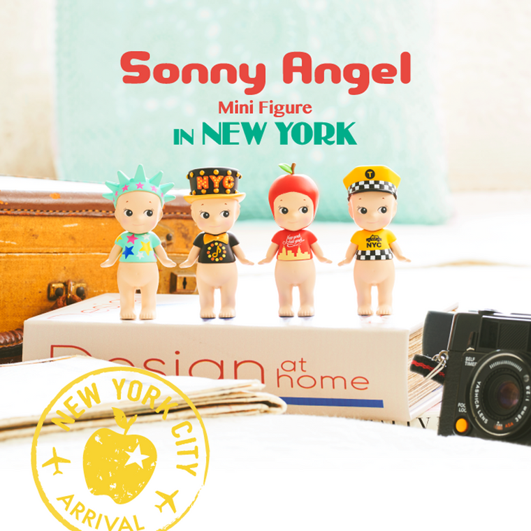 Sonny Angel Mini Figure Dolls - Limited Edition New York