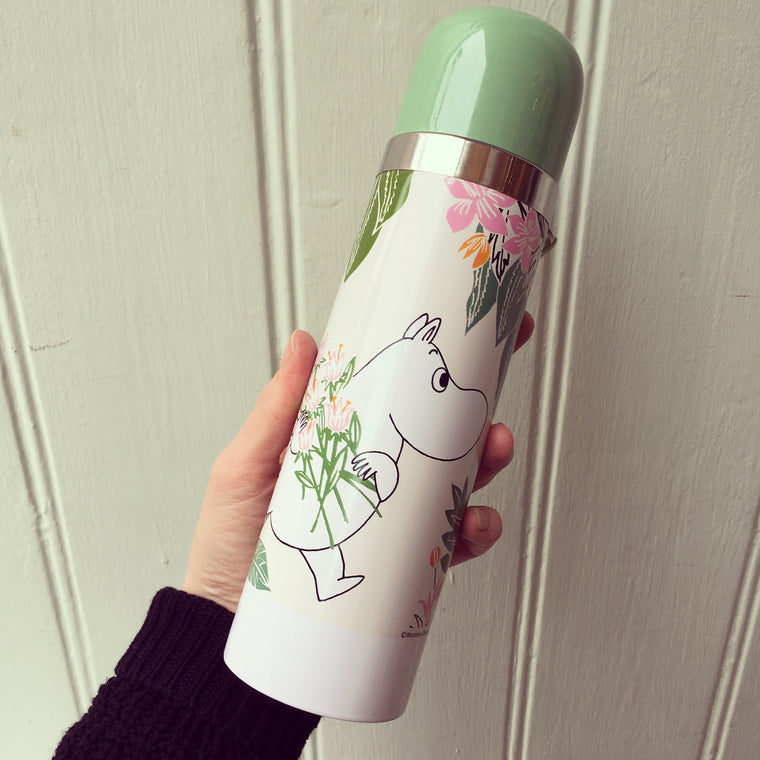 Moomin Floral Thermal Flask