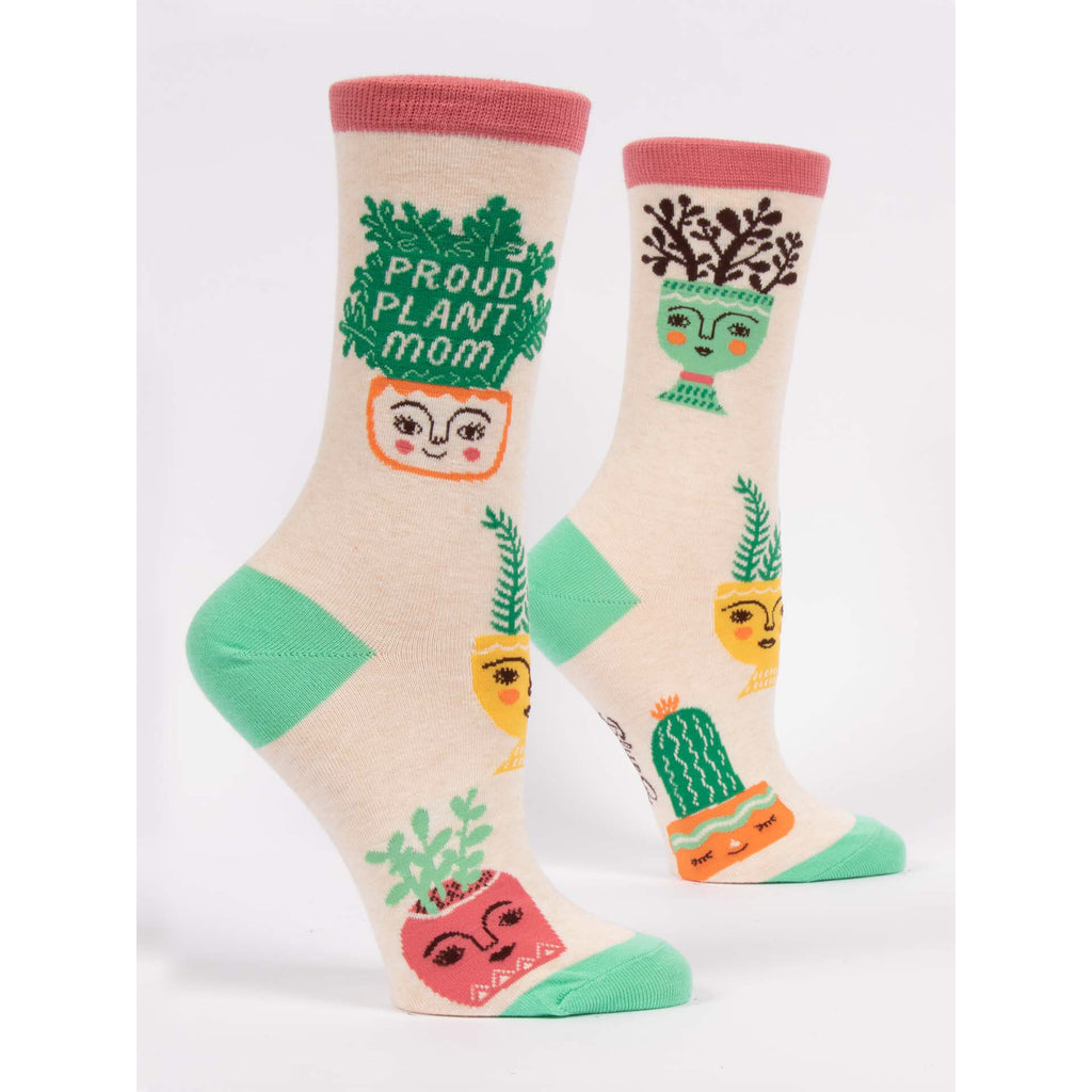 Proud Plant Mom - Crew Socks