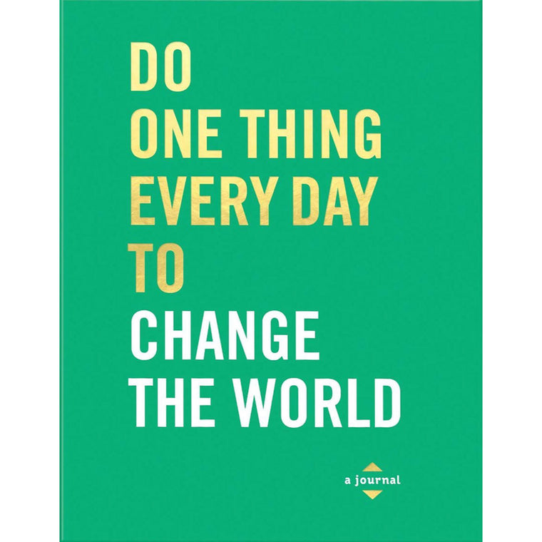 Do One Thing Every Day To Change The World - New Book