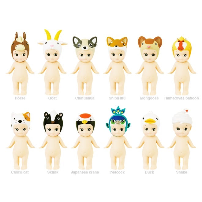 Sonny Angel Mini Figure Dolls - Animals Ver.4 2018