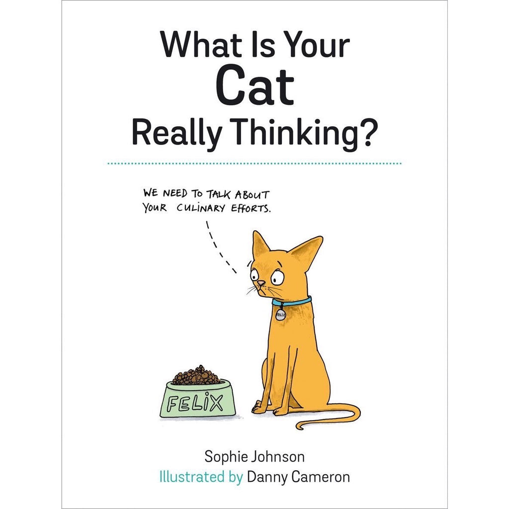What Is Your Cat Really Thinking? - New Book