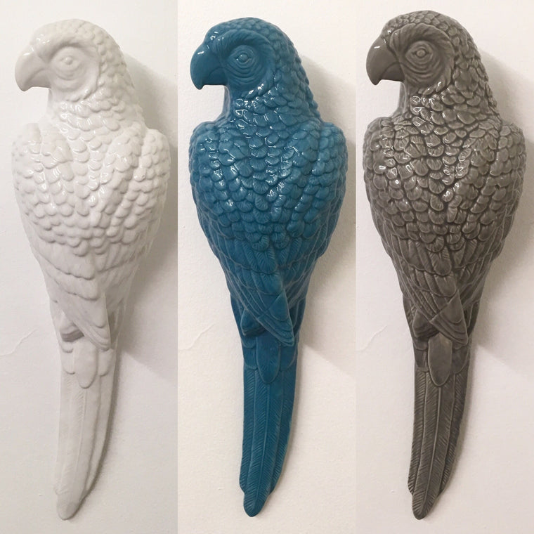 Gisela Graham Parrot Wall Decoration - 3 Colours