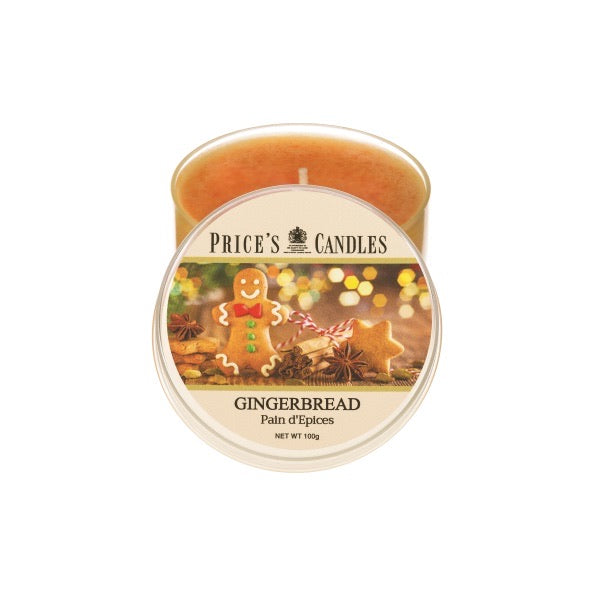 Gingerbread Tin Candle