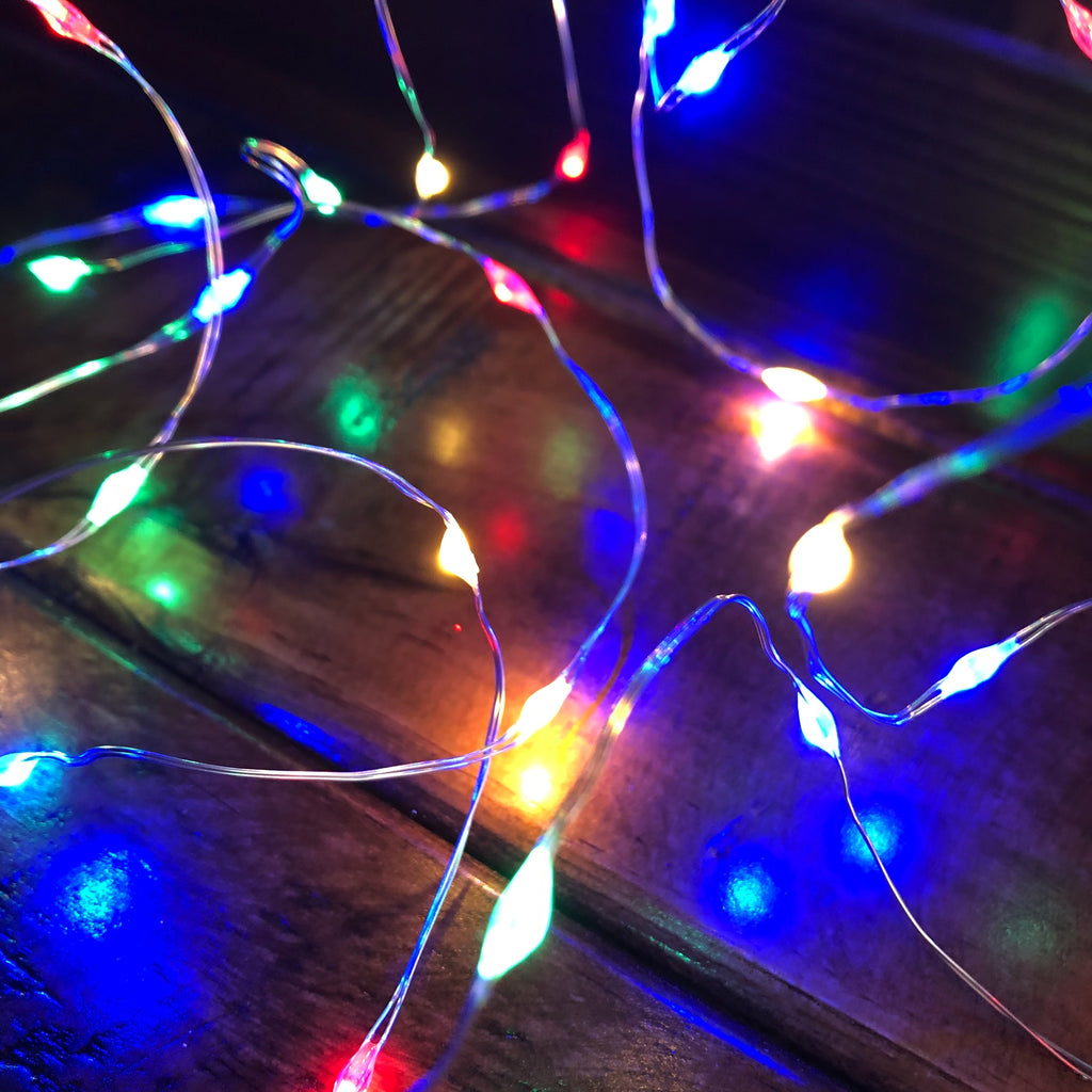 Micro LED Fairy Lights - Multicolour