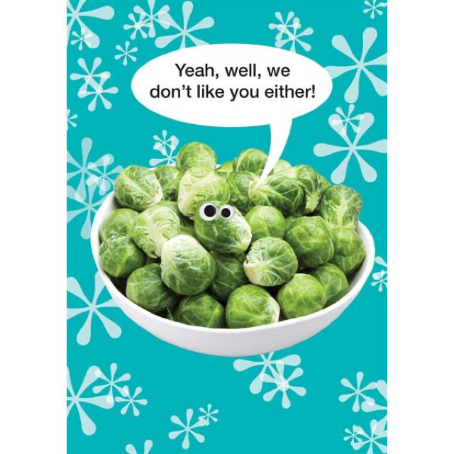 Sprouts Christmas Card