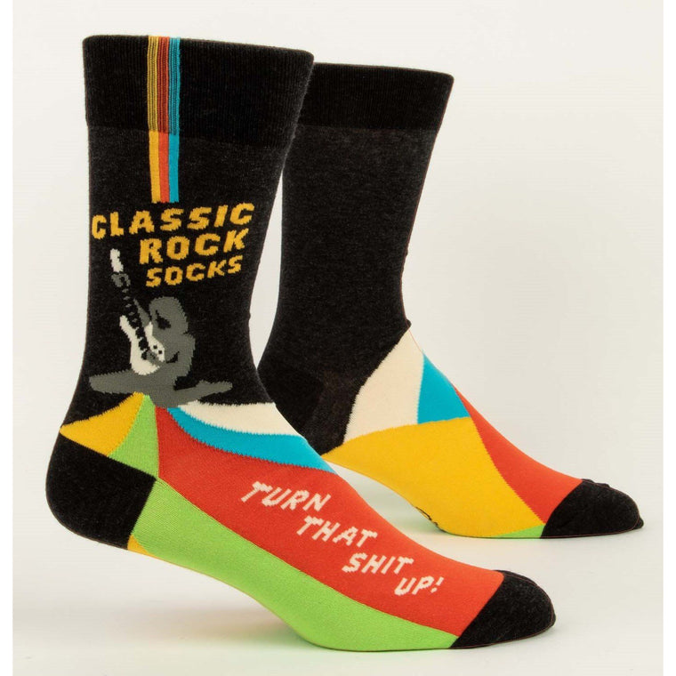 Classic Rock - Mens Crew Socks