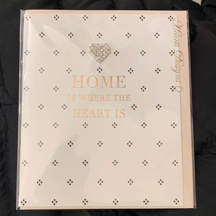 Greetings Card Home is Where the Heart is