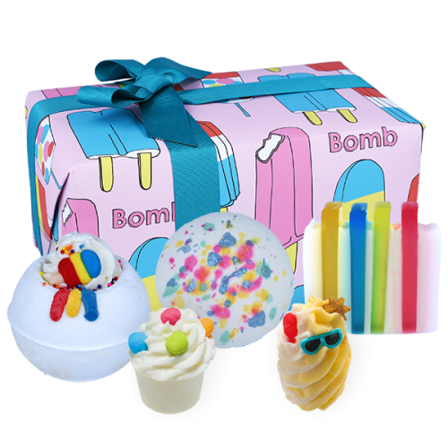 Bomb Cosmetics Gift Box Anything is Popsickle
