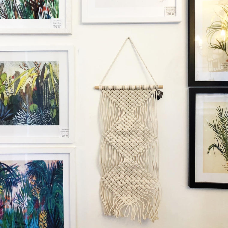 Macrame Tapestry Tassel Wall Hanging - 4 Styles