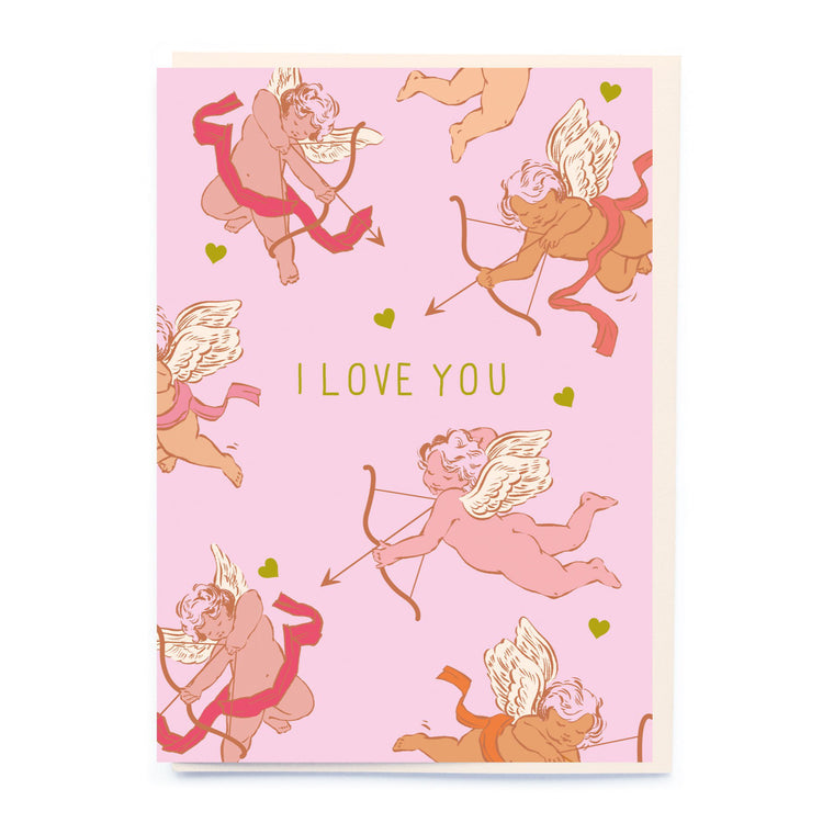 Cupid I Love You Card