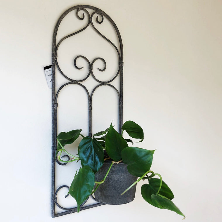Metal Wall Mounted Plant Pot Holder