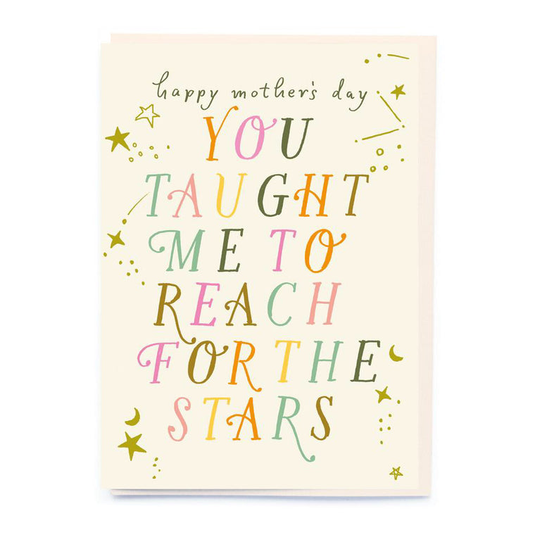 Reach For The Stars Mother's Day Card