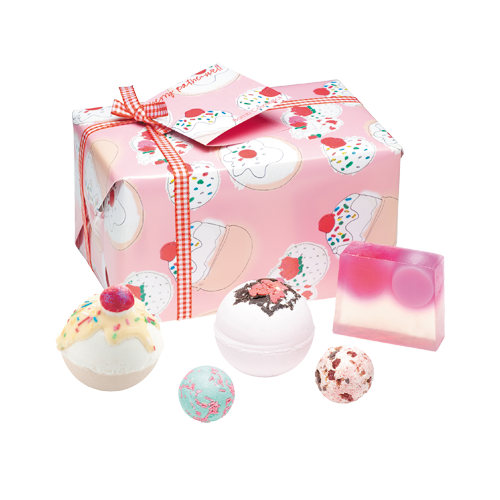 Bomb Cosmetics Gift Box Cherry Bathewell