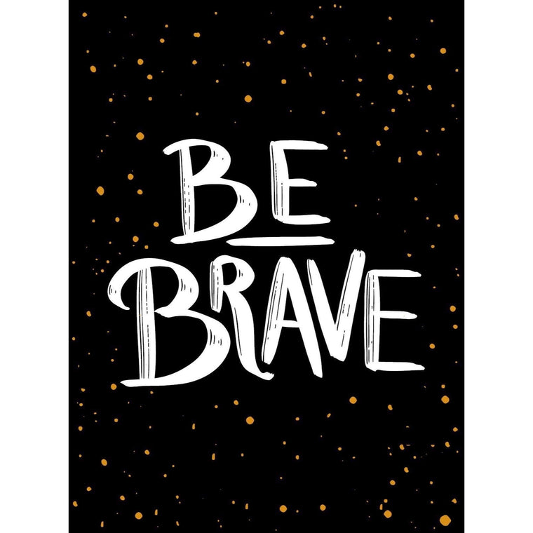 Be Brave: The Little Book Of Courage - New Book