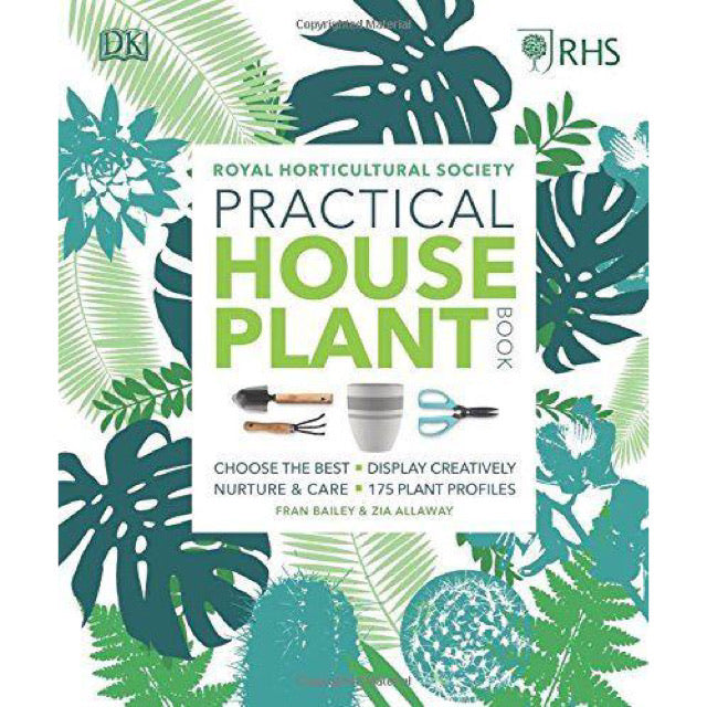 RHS Practical House Plant Book - New Book