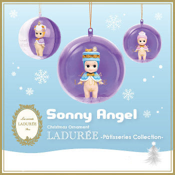 Sonny Angel Christmas Ornament Ladurée - Patisseries Collection
