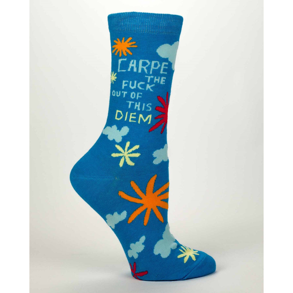 Carpe The Fuck Out Of This Diem - Crew Socks
