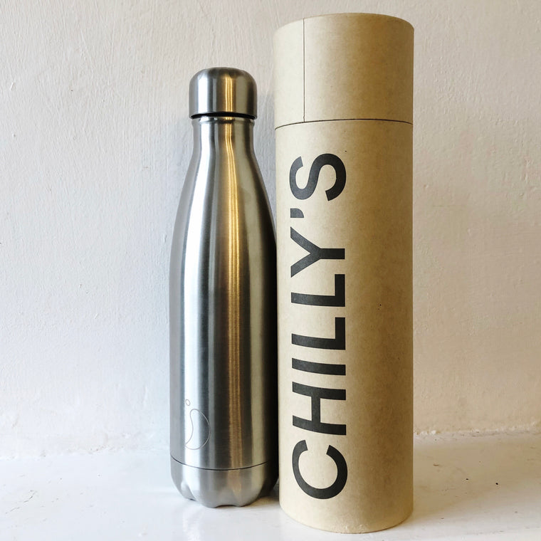 Chilly's 500ml Bottle - Stainless Steel