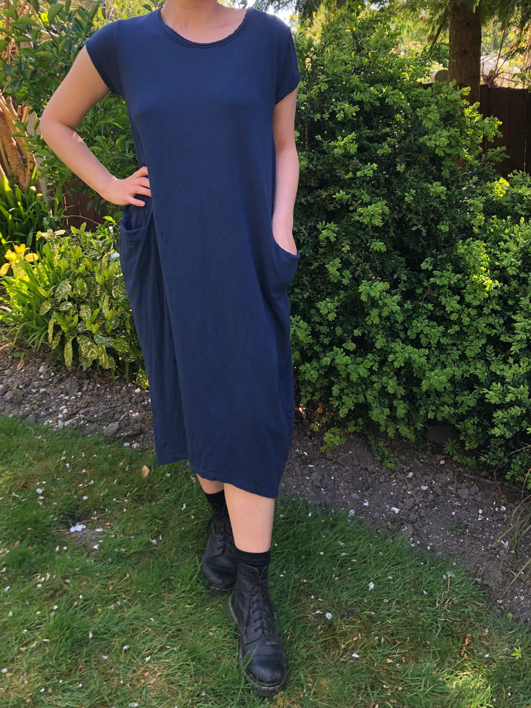 T-Shirt Dress - Navy