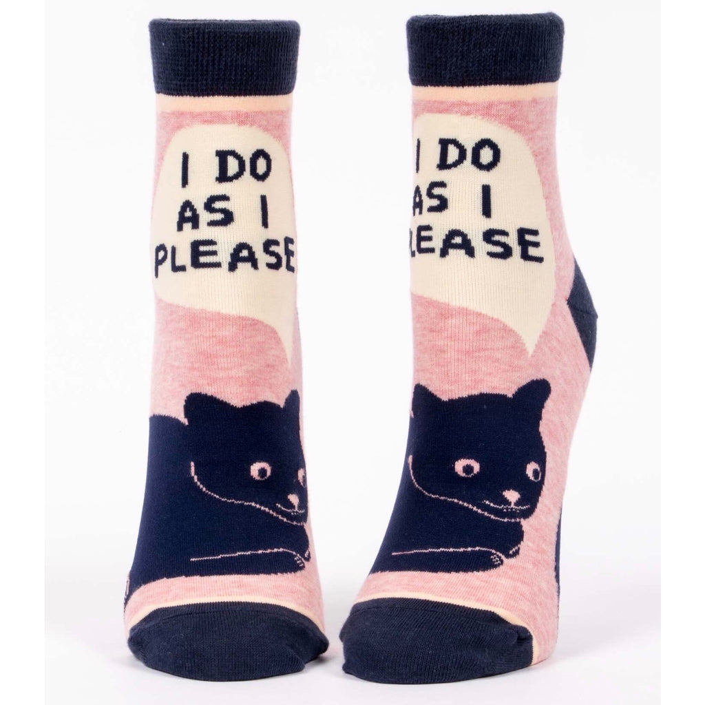 I Do As I Please - Ankle Socks