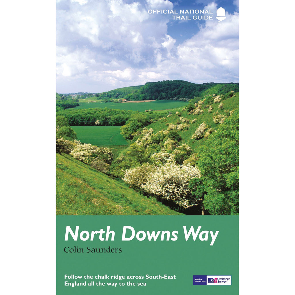 North Downs Way - Official National Trail Guide - New Book