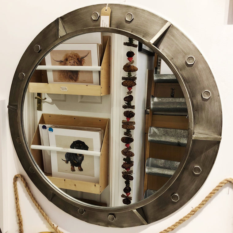 Large Porthole Mirror