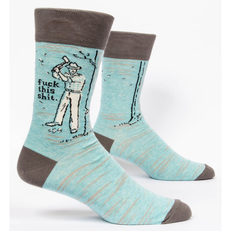 Fuck This Shit - Mens Crew Socks