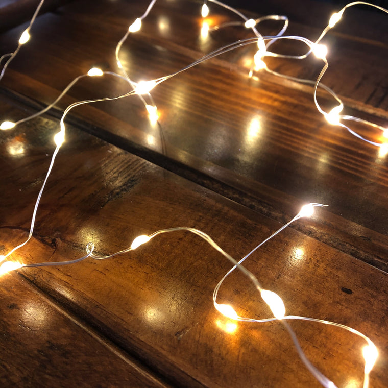 Micro LED Fairy Lights - Warm White