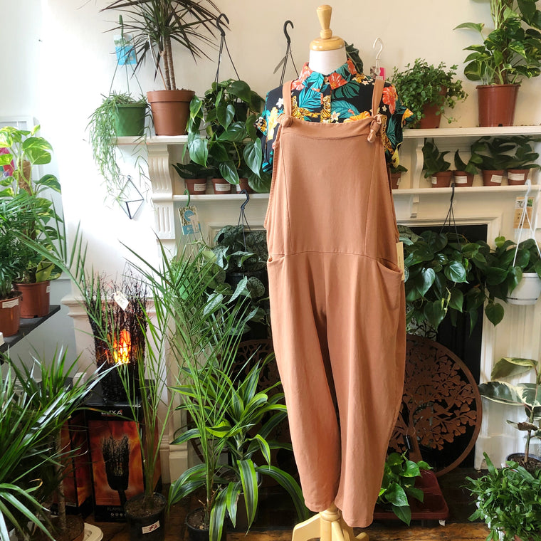 Comfy Jersey Dungarees - 8 Colours