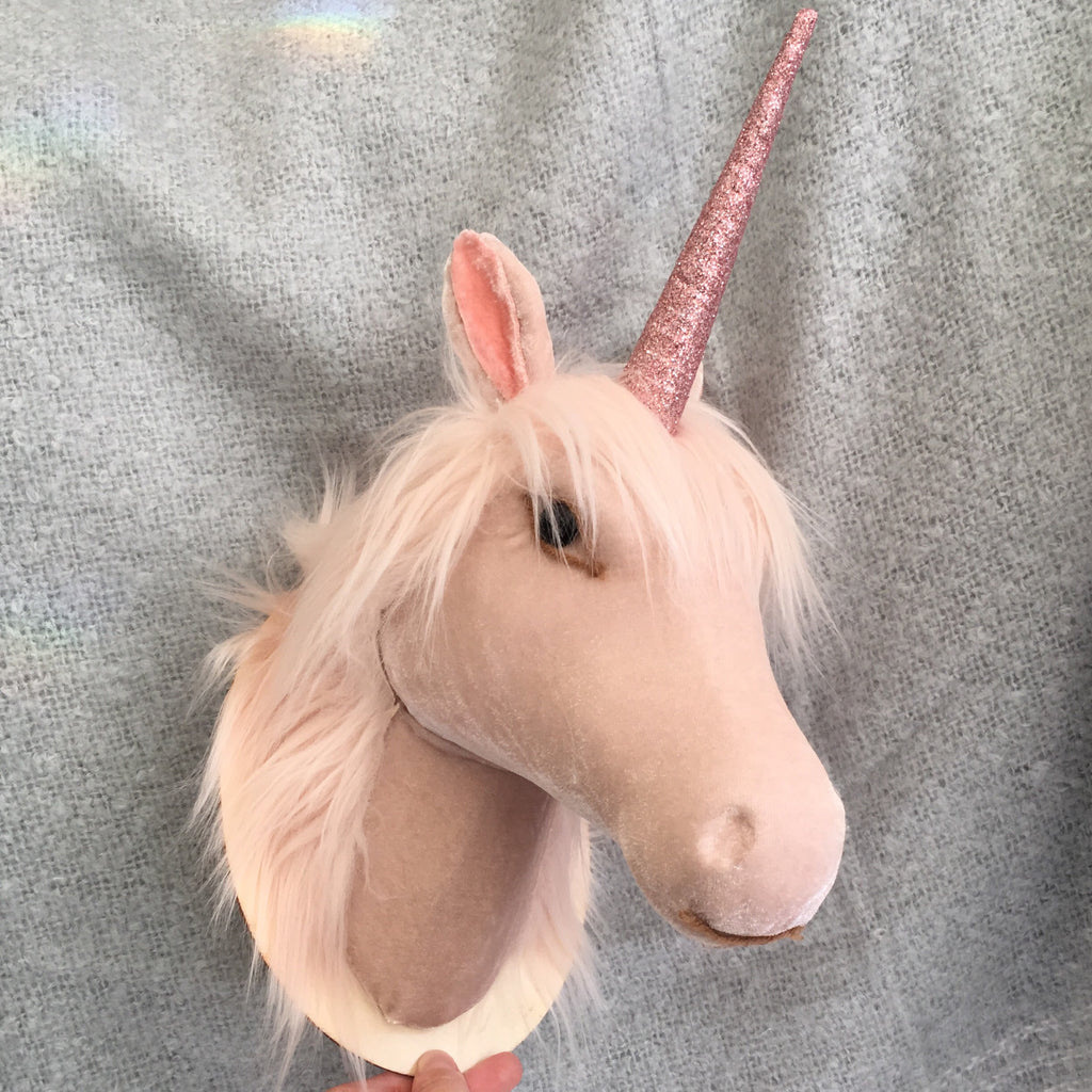 Wall Mounted Unicorn Bust