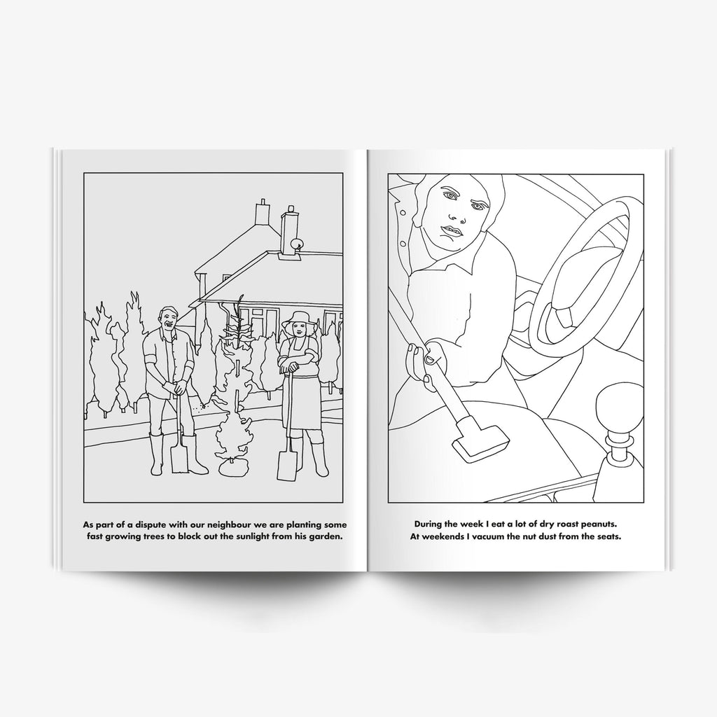 Modern Toss Colouring Book - Weekend