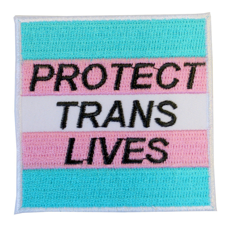 Iron on Patch - Protect Trans Lives