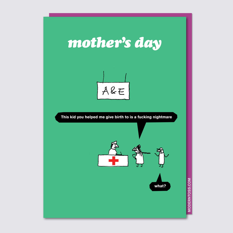 A&E Mother's Day Card
