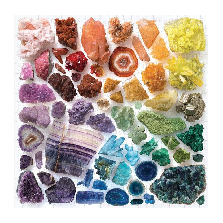 Rainbow Crystals 500 Piece Jigsaw Puzzle