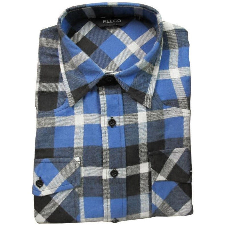 Men's Plaid Twill Lumberjack Shirt - 3 colours