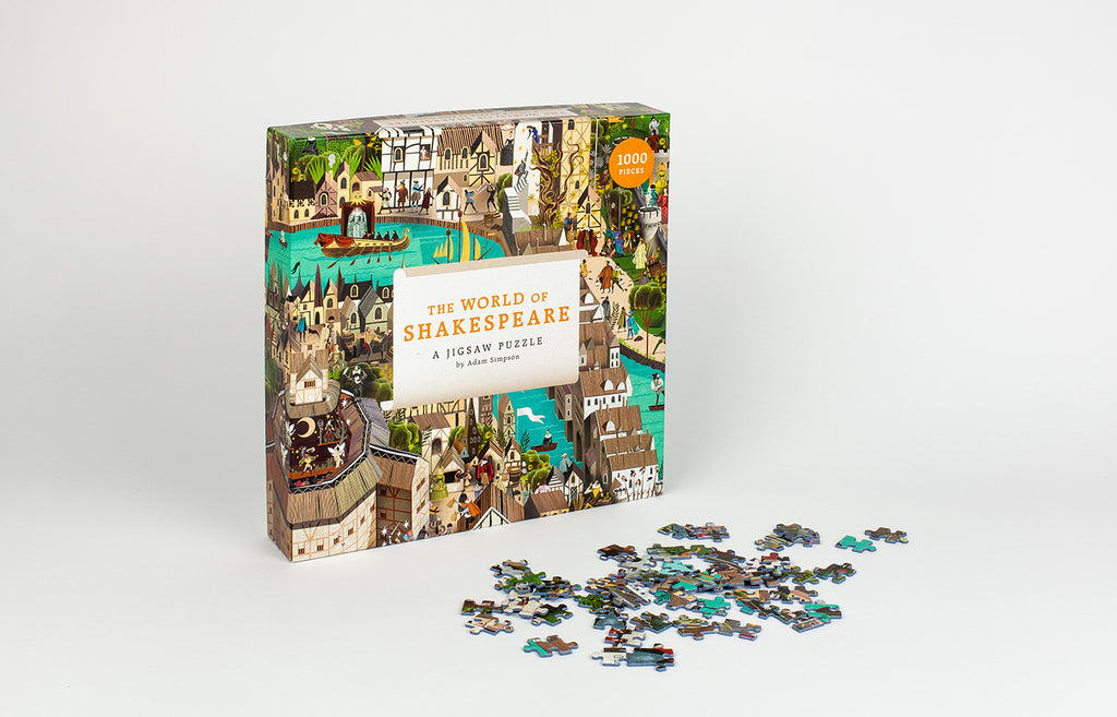 The World of Shakespeare 1000 Piece Jigsaw Puzzle