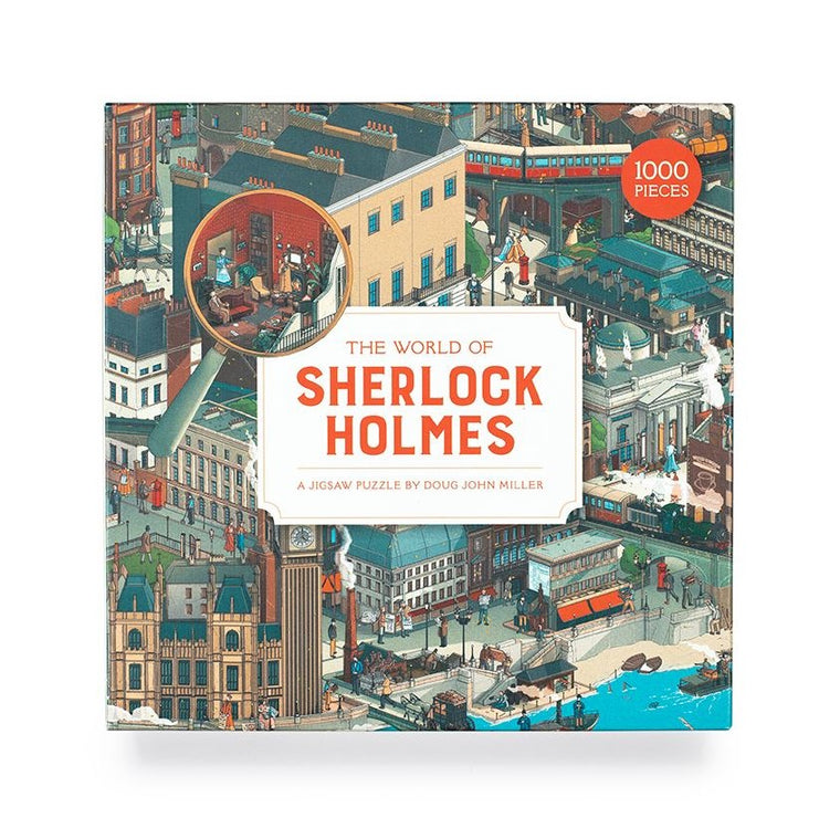 The World of Sherlock Holmes: A Jigsaw Puzzle 1000 Pieces