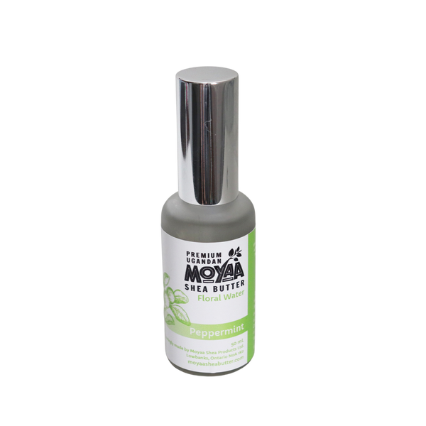Peppermint Floral Water - Moyaa Shea Products Ltd