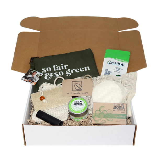 Start Small Sustainable Living Box - Moyaa Shea Products Ltd