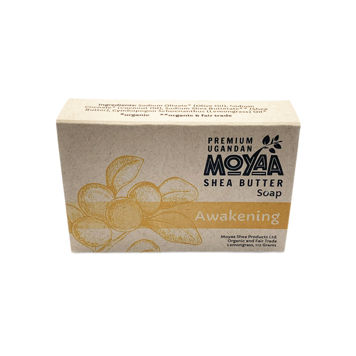 Moyaa Shea Soap - Lemongrass - Awakening - Moyaa Shea Products Ltd