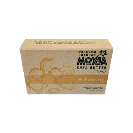 Moyaa Shea Soap - Sweet Orange - Balancing - Moyaa Shea Products Ltd