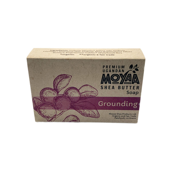 Moyaa Shea Soap - Patchouli - Grounding - Moyaa Shea Products Ltd