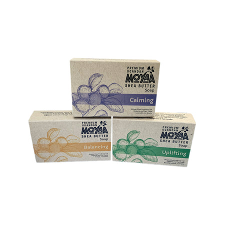 Moyaa Shea Soap - Three Pack - Moyaa Shea Products Ltd