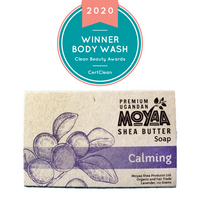 Moyaa Shea Soap - Lavender - Calming - Moyaa Shea Products Ltd