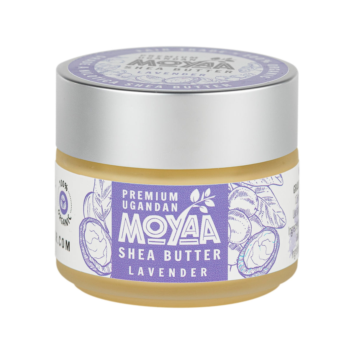 Moyaa Shea Butter - Lavender - 4oz - Moyaa Shea Products Ltd