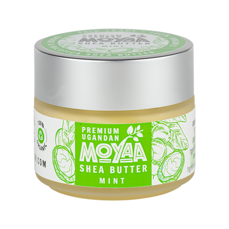 Moyaa Shea Butter - Mint - 2oz - Moyaa Shea Products Ltd