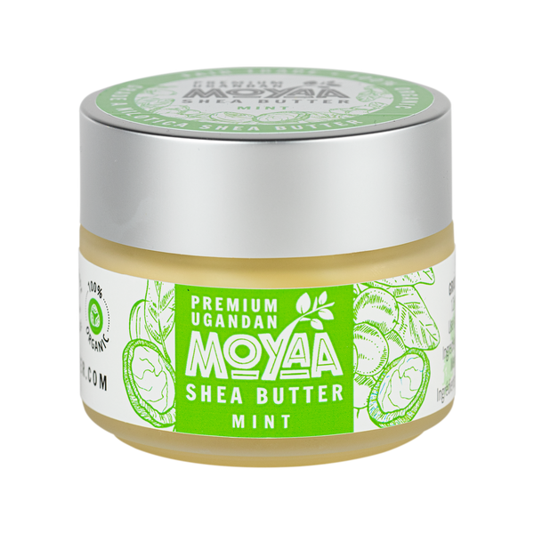 Moyaa Shea Butter - Mint - 4oz - Moyaa Shea Products Ltd