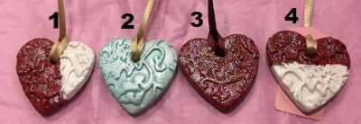 Mini Heart Ornament